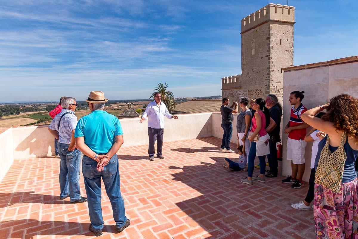 Visita a la Torre de los Acevedo