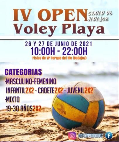 IV Open Voley Playa Ciudad de Badajoz